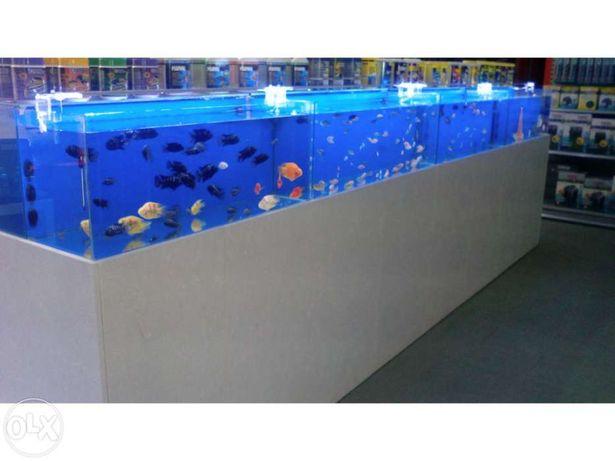 Barras led em aluminio especificas para aquario 6500k