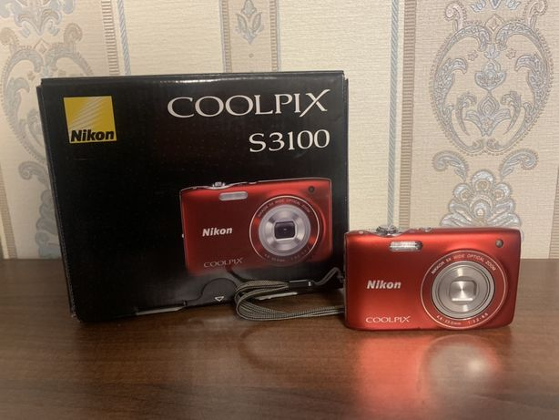 Фотоаппарат Nikon Colpix s3100