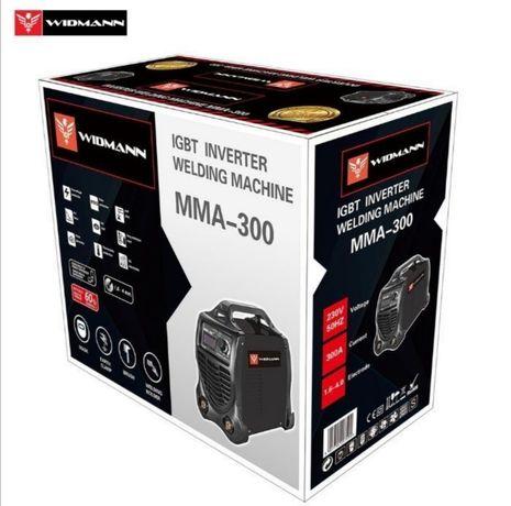 Aparelho Soldar WIDMANN IGBT Inverter 300AMP (NOVOS) Preto/Amarelo