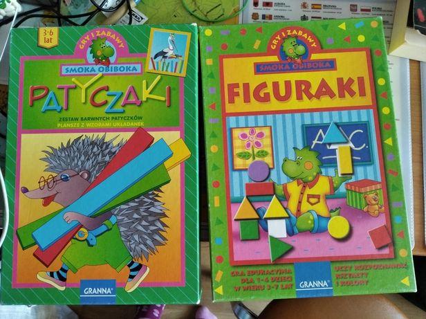 Zestaw gier Granna Patyczaki i Figuraki Tanio gry edukacyjne