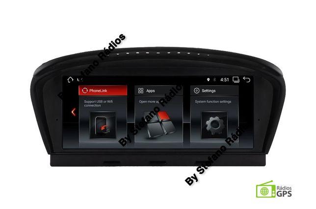 Radio BMW GPS E60 E61 E90 E91 ecrã 8,8 GPS Bluetooth Mãos Livres