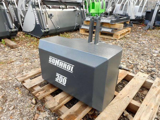 SONAROL Balast Obciążnik na Tuz 300 kg Sonarol OBC SNR 300
