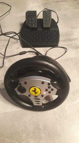 Kierowca z pedałami PS3 50zł.