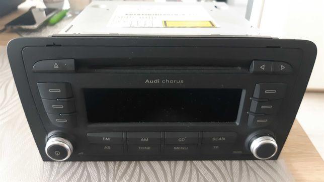 Radio chorus 2 Din Audi a3 8p z kodem