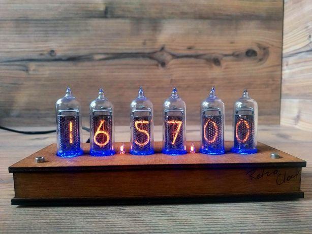 Nixie Clock ламповые часы ИН-14 ретро винтаж