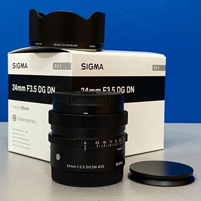 Sigma 24mm f/3.5 DG DN Contemporary (Sony FE) - NOVA