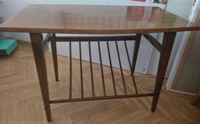 мебель ретро кресло со столиком журнальным  импортное винтаж