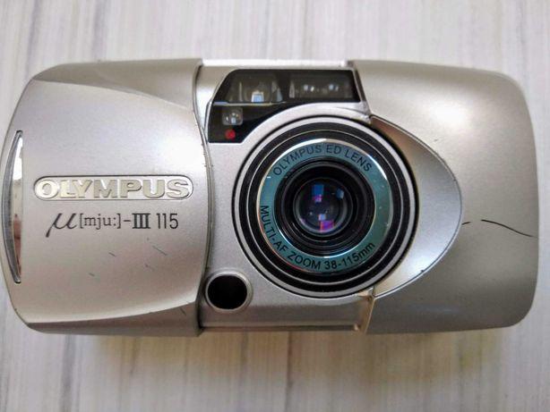 Легендарный OLYMPUS mju-III 115 (Zoom, All-weather). 100% рабочий