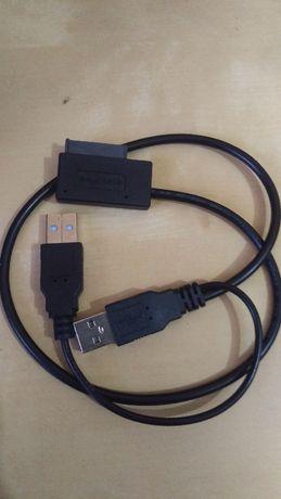 Cabo USB 2.0 to Slim SATA USB Slimline Serial
