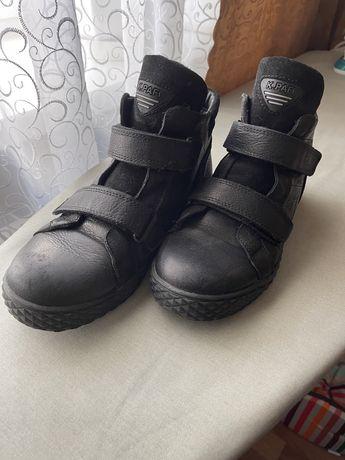 Подростковые ботинки