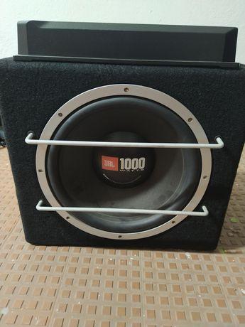 Amplificador Sony Xplod + Subwoofer JBL