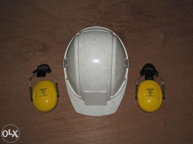 Capacete de segurança Peltor G2000 com auriculares de protecção