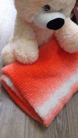 Плед, одеяло в кроватку, коляску (96х96см)