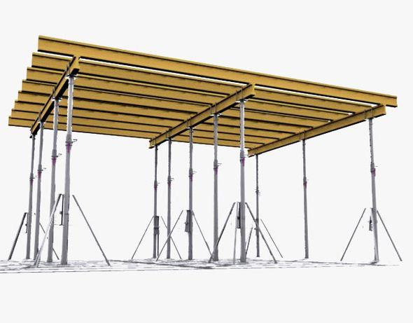 Wynajem szalunków stropowych, ściennych, stemple budowlane Peri