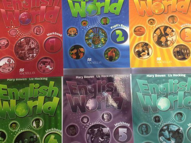 English World 1-6 уровни(граматика)