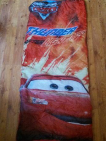 Śpiwór z serii cars zygzak McQueen