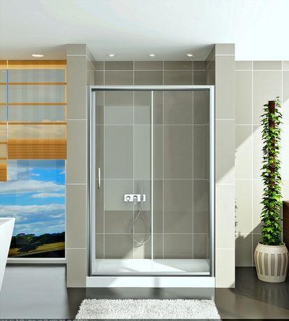 Душевые раздвижные двери, перегородка в нишу  GRONIX® Slide