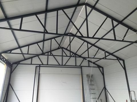KONSTRUKCJE STALOWE wiata garaż hala usługi spawalnicze więźby dachoa