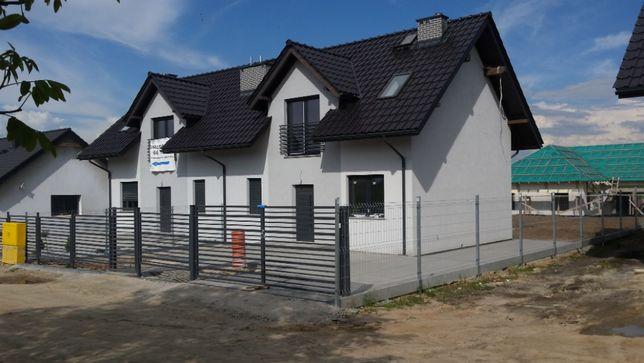 Dom w zabudowie bliźniaczej STRZELIN NOWY 100m2