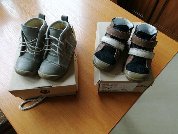 Buty skórzane Bartek r. 22 i Bartuś r. 21