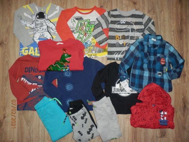 12 szt Zestaw do Przedszkola na wiosnę;bluzki,bluzy,spodnie HM FF Rese