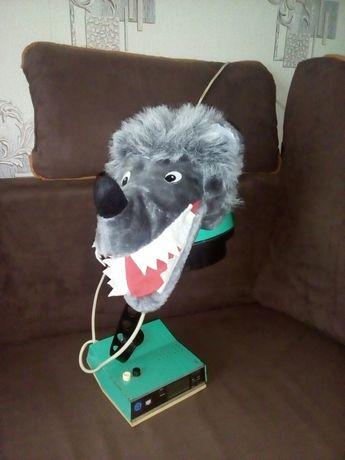 Карнавальный наряд волк головной убор