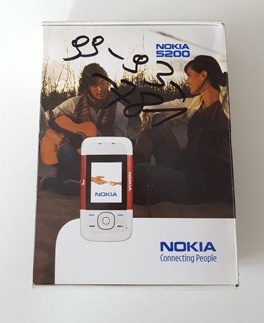 Pudełko Nokia 5200 * zestaw * opakowanie * telefon ***