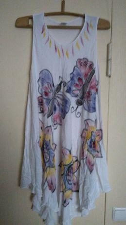 Летнее платье сарафан марлевка