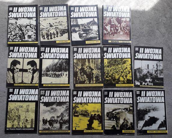 12 numerów czasopisma II Wojna Światowa wyd. KAW