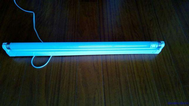 Armadura com 60 cm com lampada led