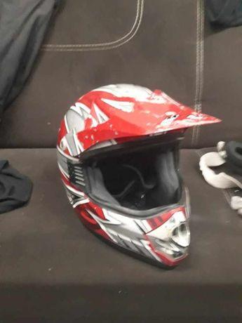 Kask motocyklowy BOX CROSS