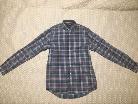 Koszula w kratę Tommy Hilfiger rozmiar S new york fit stan idealny!