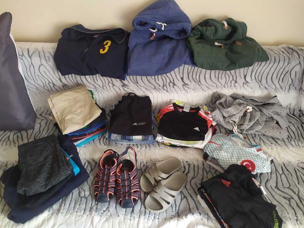 Zestaw/paczka markowych ubrań dla chłopca