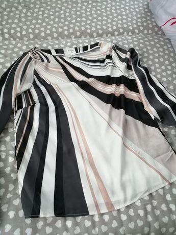 Bluzka koszulowa h&m 38