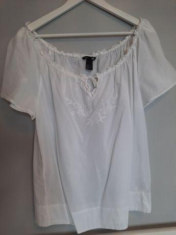 Ciazowa bluzka regulowany dekolt hm mama