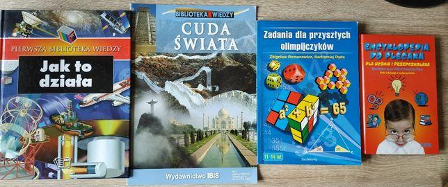 Pakiet 10 książek edukacyjnych szkoła podstawowa