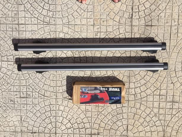 Vendo Barras de Tejadilho 108cm THULE + base 755 THULE