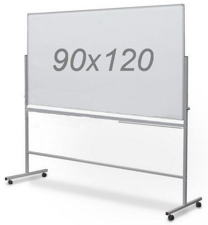 Доска поворотная двухсторонняя на колесах 90х120 см для маркера