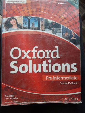 Oxford Solutions podrecznik+ ćwiczenia
