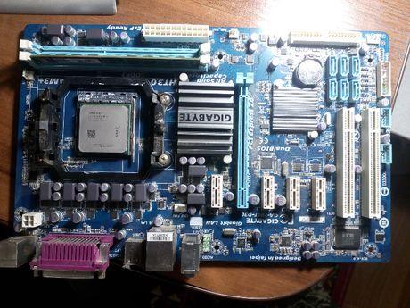 Материнская плата ga780t-d3l + FX4300 + Kingston 2 GB DDR3 1333 MHz