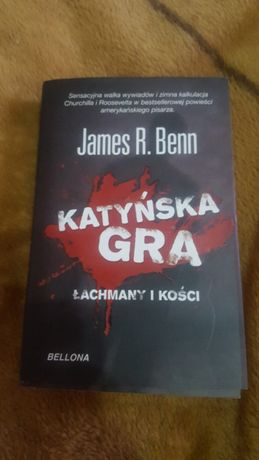 Książka Katyńska Gra