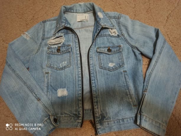 Крутая джинсовая куртка, джинсовка