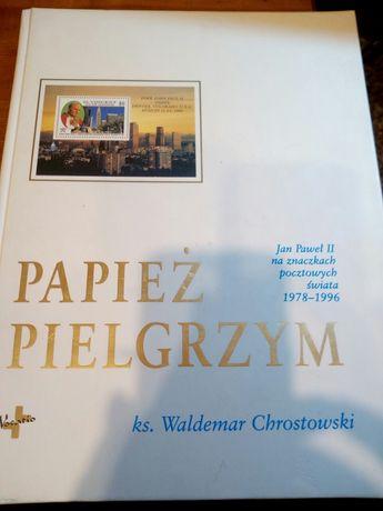 Papiez - pielgrzym, na znaczkach.pocztowy h.
