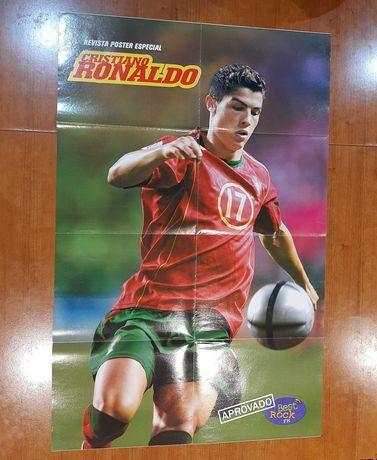 Cristiano Ronaldo Revista Poster Especial Euro 2004 RARA
