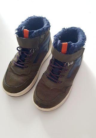 Buty chłopięce h&m Sneakersy za kostkę Ocieplane 27