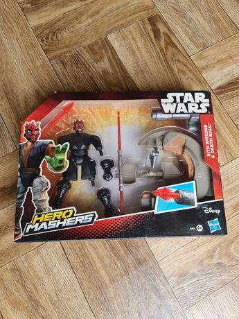 Hasbro B3832 Star Wars Hero Mashers Sith Speeder & Darth Maul