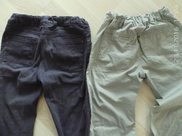 spodnie jeansowe rurki tregginsy treginsy grube ciepłe H&M 146-152