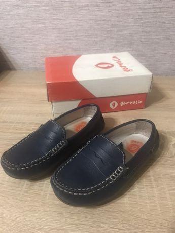 Туфли мокасины для мальчика garvalin гарвалин 28 размер