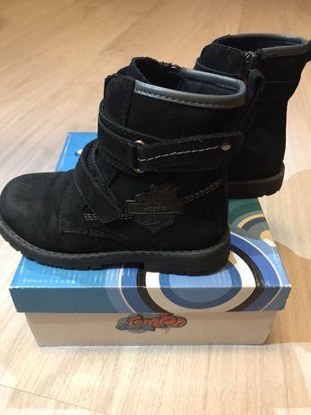 Ботинки кожаные демисезонные 29 размер