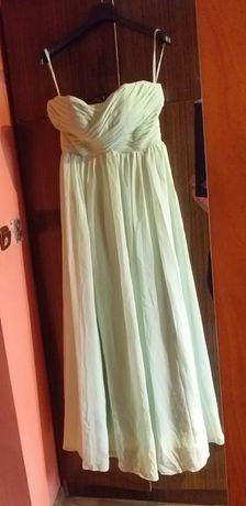 Suknia sukienka maxi długa ślub wesele studniówka bal
